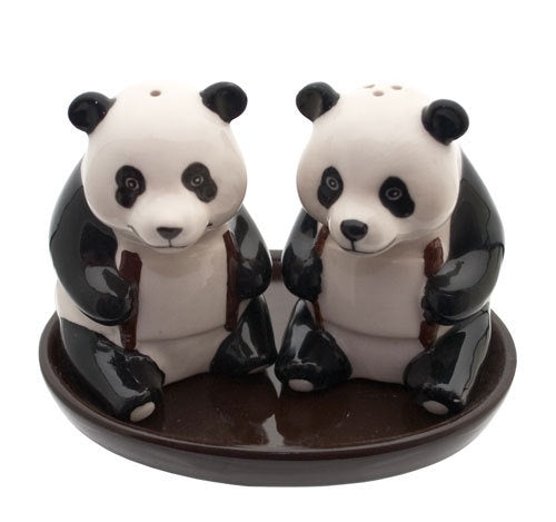 Panda Salt and Pepper Pots
