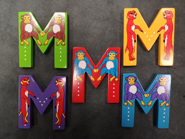 Children's Animal Letters - M