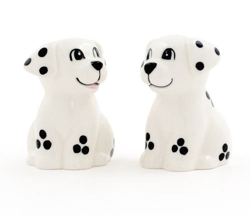 Dalmatian Dog Salt and Pepper Shakers