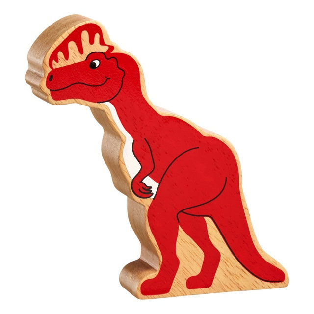 Red Tall Dinosaur Shape Toy