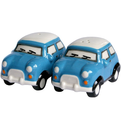 Salt and Pepper Mini Car Shakers