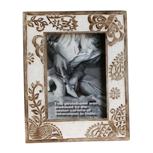 Butterfly Mango Wood Frame