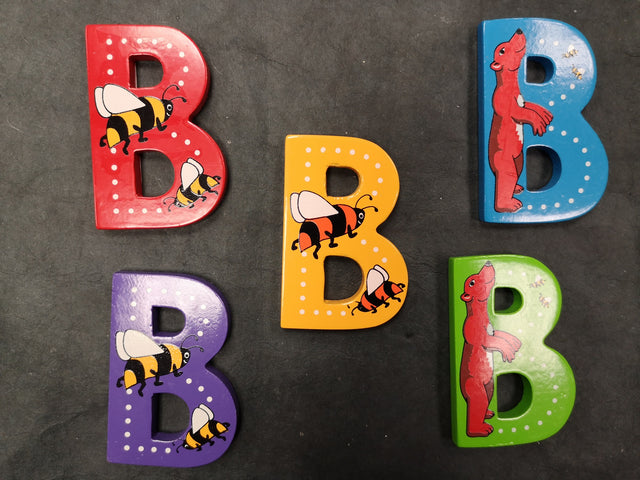 Children's Animal Letters - B