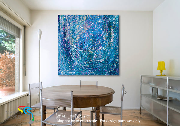 Interior Design Inspiration- 1 Peter 3:15. Our Hope. Limited Edition Christian Modern Art. Ultra-hand embellished and textured with rich brush strokes by the artist. But sanctify the Lord God in your hearts, and always be ready to give a defense to everyone who asks you a reason for the hope that is in you, with meekness and fear. 1 Peter 3:15