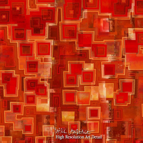 Large Painting Detail- Christian Art-1 John 3:14. Versevisions contemporary abstract fine art by Mark Lawrence. Artist direct original limited edition signed canvas & paper giclees