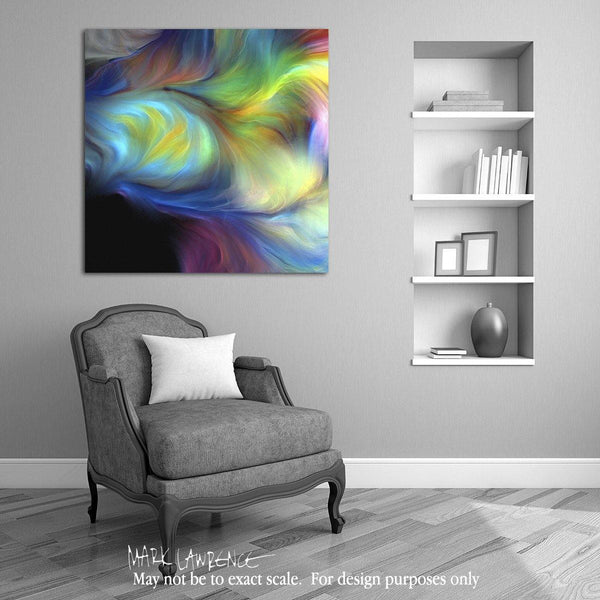 Desigher Room Art Inspiration- Christian Art-He First Loved Us. Versevisions inspirational art by Mark Lawrence. Artist Direct- Original limited edition signed canvas and paper giclees