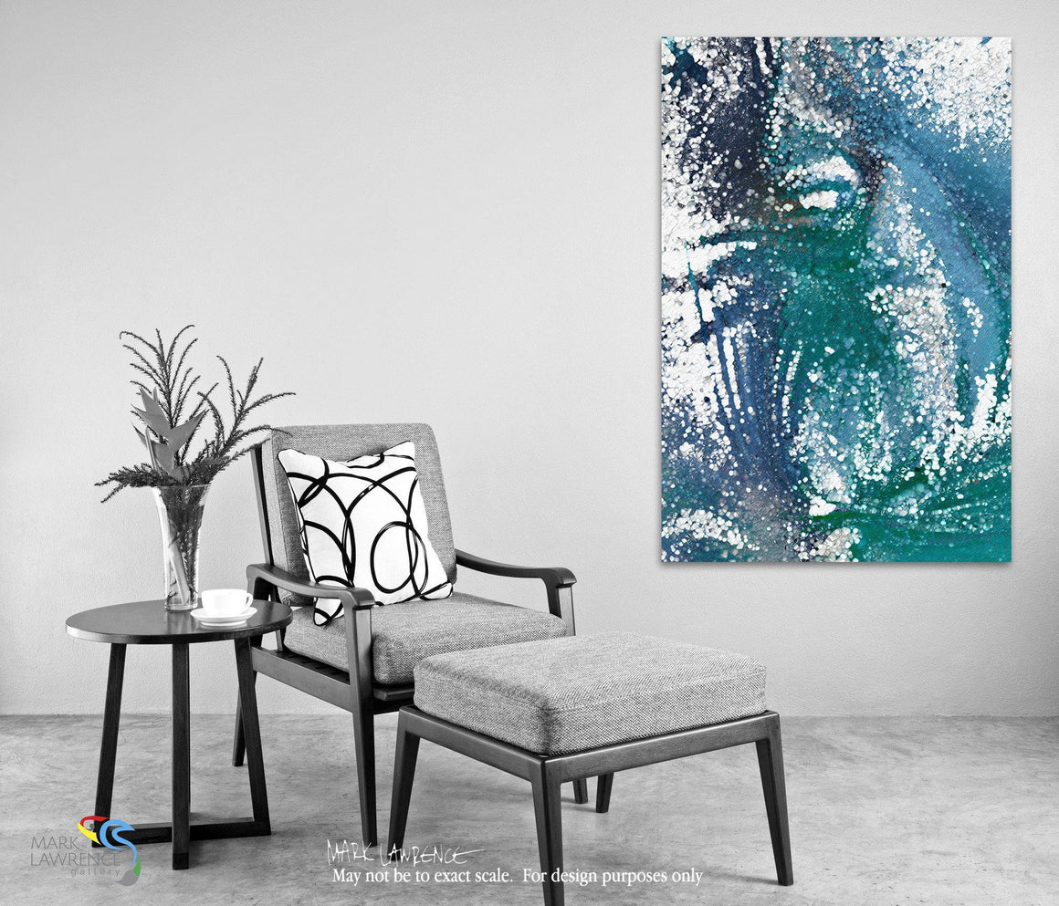 Desigher Room Art Inspiration- 1 Peter 2:11. Living Before The World. Limited Edition Christian themed art. Ultra hand embellished with textured brush strokes signed/numbered modern abstracts