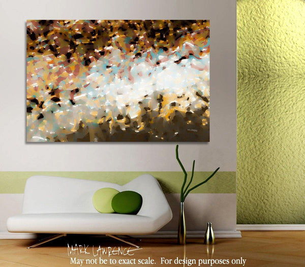Room Art Inspiration- Christian Art | Unifying Hope. 1 Thessalonians 5:12-13 | Modern Abstract Painting
