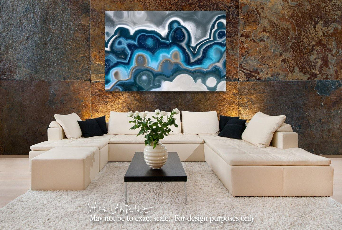 Art Inspiration- 1 Thessalonians 5:14. Comfort The Fainthearted. Limited Edition Christian themed art. Amazing hand embellished with brush strokes signed/numbered modern abstracts