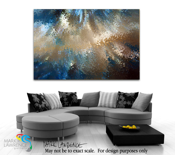 Interior Desiner Inspiration. 2 Timothy 1:7. Be Fearless. Limited Edition Christian Modern Art. Ultra-hand embellished and textured with rich brush strokes by the artist. Signed & numbered brightly colored Christian abstract art. Find Art That Speaks To You! For God has not given us a spirit of fear, but of power and of love and of a sound mind. 2 Timothy 1:7