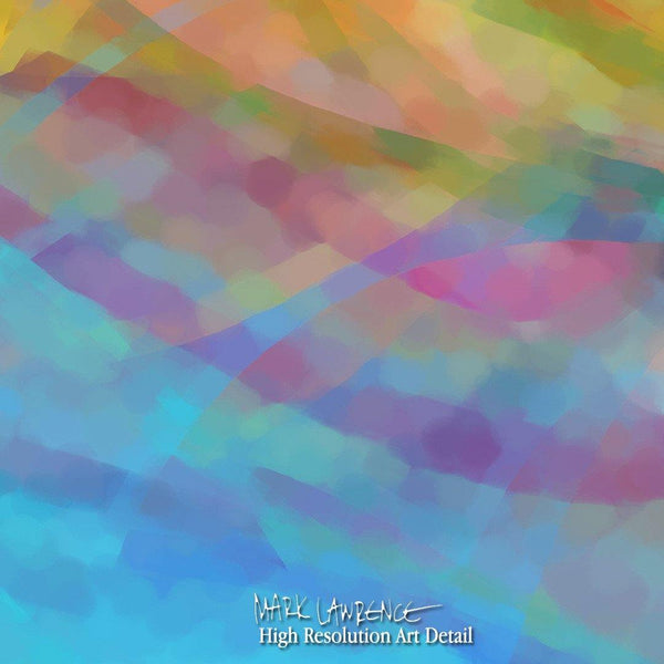 Limited Edition- Across The Way. Large Abstract Art
