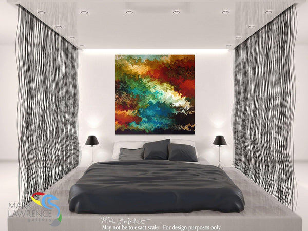 Room Inspiration- Christian Art- Is He Really Lord? Acts 20:24. Christian Art-Mark Lawrence. My Utmost For His Highest devotional inspirational art by Mark Lawrence. Original limited edition signed canvas and paper giclees