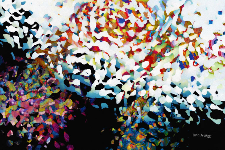 Christian Art | Raised In The Likeness Of His Resurrection. Acts 2:38 | Modern Abstract Art