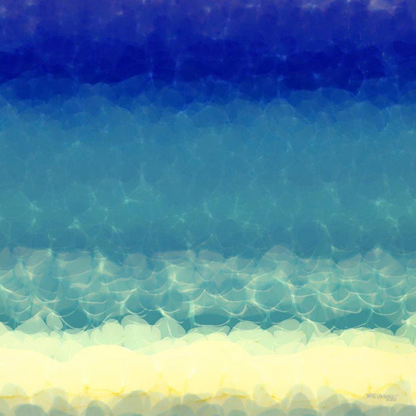 Limited Edition- Beach Scene 2. Abstract Beach Art