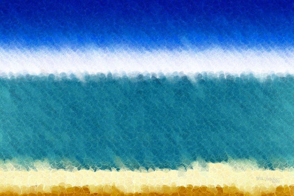 Limited Edition- Beach Scene 3. Abstract Beach Art