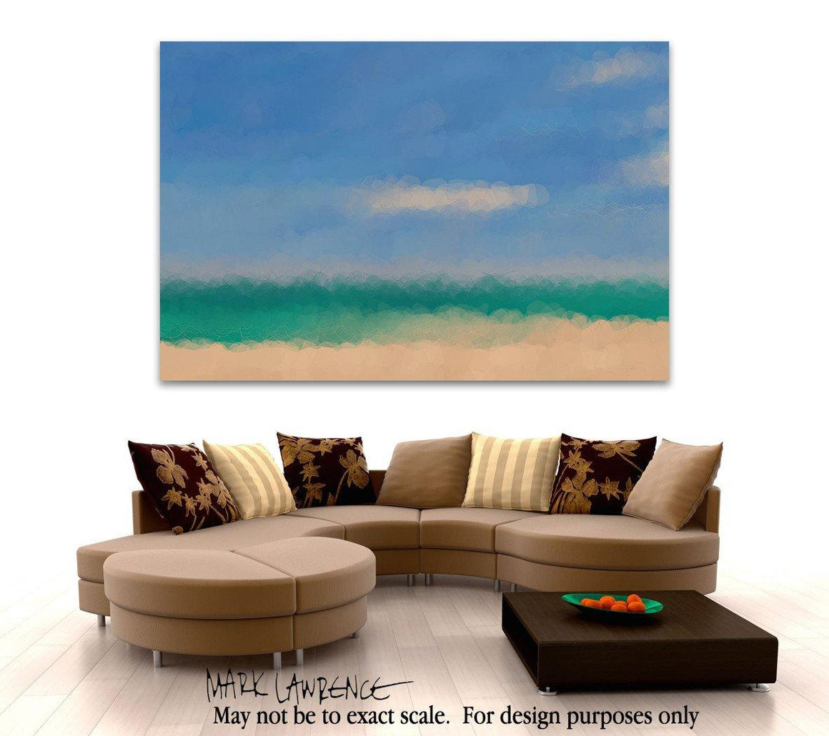 Limited Edition- Beach Scene 6. Abstract Beach Art