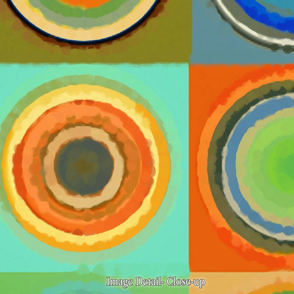 Limited Edition- Circles and Squares #1. Modern Fine Art