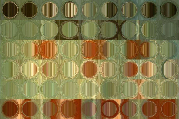 Limited Edition- Circles and Squares #13. Modern Fine Art