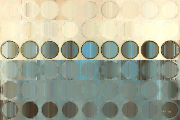 Circles and Squares #18. Modern Fine Art