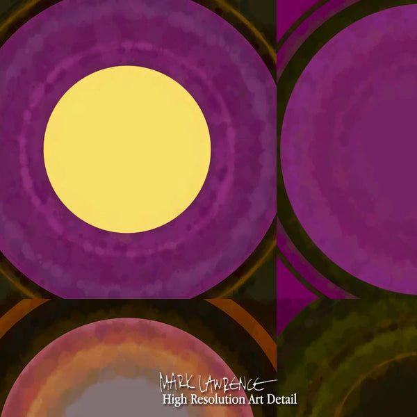 Painting Detail- Circles and Squares #27 | Modern Home Decor