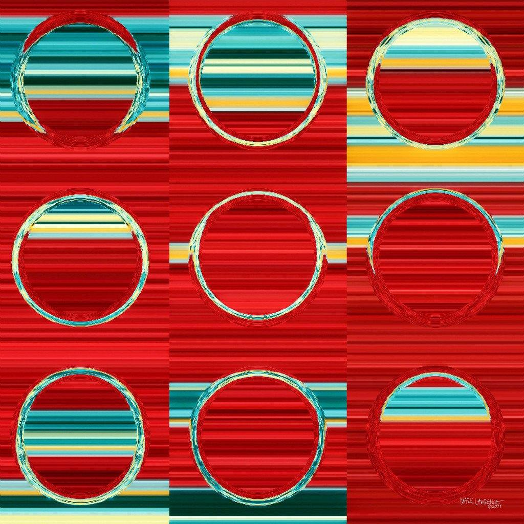 Circles and Squares #8. Modern Fine Art