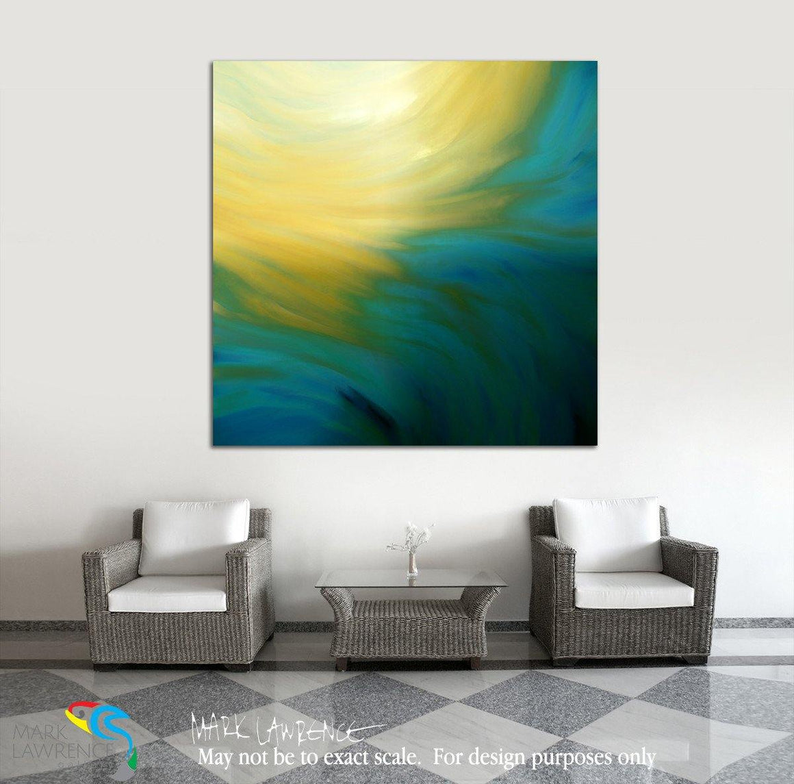 Interior Design Focal Art Inspiration-Christian Art- Colossians 2:9. Complete. Inspirational abstract art by Mark Lawrence. Original limited edition signed canvas & paper giclees