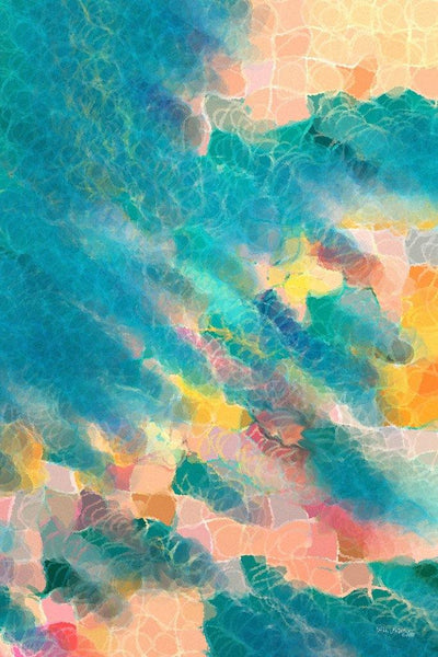 Beach Abstract Art | Coral Sea | Limited Edition Giclee
