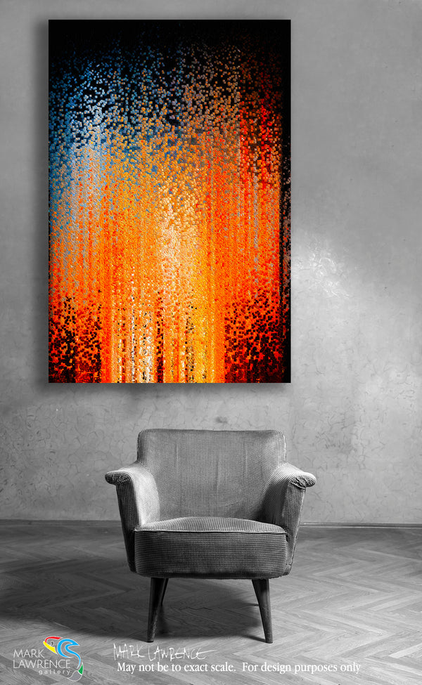 Interior Design Inspiration- Ephesians 6:10. Power Of His Might. Limited Edition Christian Modern Art. Ultra-hand embellished and textured with rich brush strokes by the artist. Signed and numbered brightly colored Christian abstract art. Find Art That Speaks To You! Finally, my brethren, be strong in the Lord and in the power of His might. Ephesians 6:10