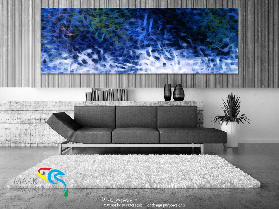 Interior Design Focal Point Art Inspiration- Ephesians 2:5. I Am Alive With Christ. Christian Art. Original limited edition signed canvas and paper giclees by internationally collected artist Mark Lawrence