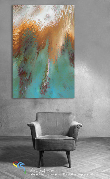 Focal Point Art- Ephesians 4:24. Created According To God. Christian themed inspirational abstract art by Mark Lawrence. Original limited editions signed canvas & paper giclees.