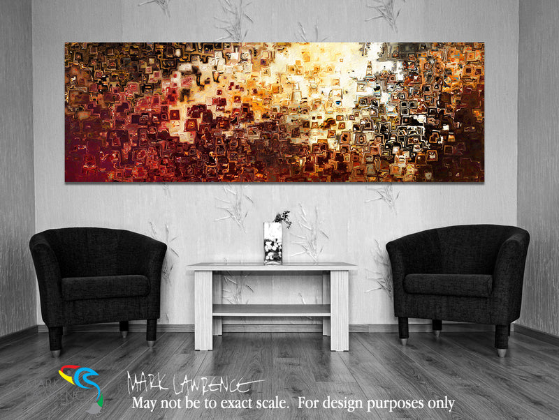 "Large Panoramic Interior Design Inspiration Art- Genesis. Genesis 1:3. Limited Edition Christian Modern Art Panoramic. Ultra-hand embellished and textured with rich brush strokes by the artist. Signed & numbered brightly colored Christian abstract art. Find Art That Speaks To You! Then God said, ""Let there be light""; and there was light.  Genesis 1:3"