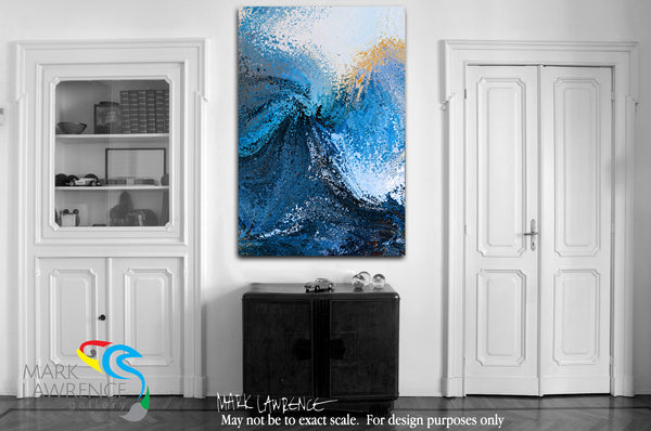 Interior Design Inspiration- Hebrews 10:23. Hold Fast. Limited Edition Christian Modern Art. Ultra-hand embellished and textured with rich brush strokes by the artist. Signed and numbered brightly colored Christian abstract art. Let us hold fast the profession of our faith without wavering; for he is faithful that promised. Hebrews 10:23