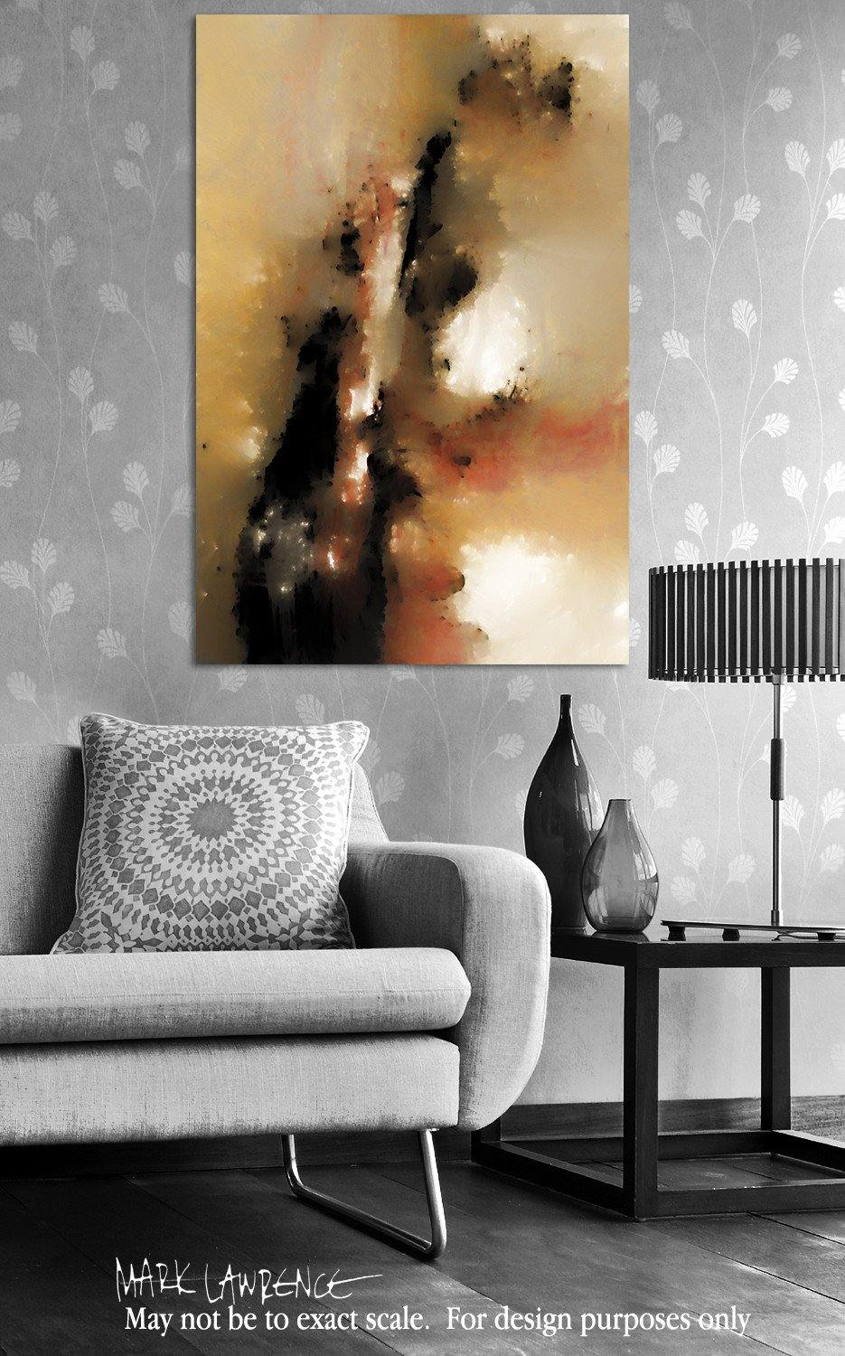Interior Design Focal Point Art Inspiration- Christian Art-Hebrews 10:19. Versevisions inspirational abstract art by Mark Lawrence. Artist Direct- Original limited edition signed canvas & paper giclees