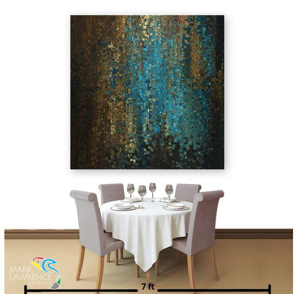 Restaurant Art Inspiration- Hebrews 13:6. My Father Protects Me. Limited Edition Christian themed art. Richly hand embellished with brush strokes. Artist Signed/Numbered-Quantities Limited
