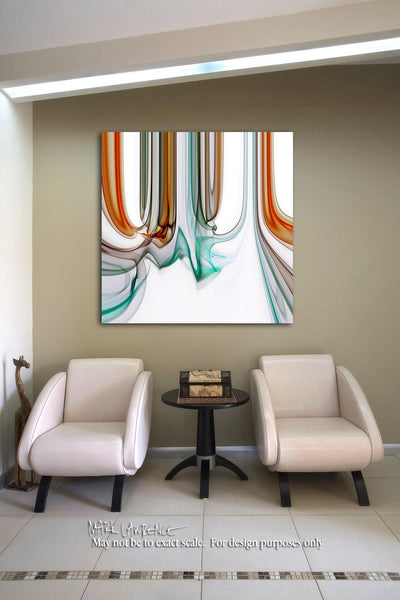 Interior Design Focal Point Art Inspiration- Christian Art-God's Bands Of Love. Versevisions inspirational art by Mark Lawrence. Artist Direct- Original limited edition signed canvas and paper giclees