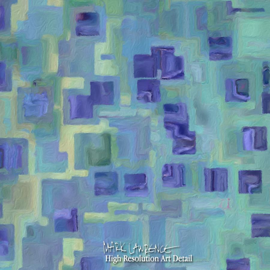 Painting Detail- Trust In The Lord Forever. Isaiah 26:4 | Modern Christian Abstract Art