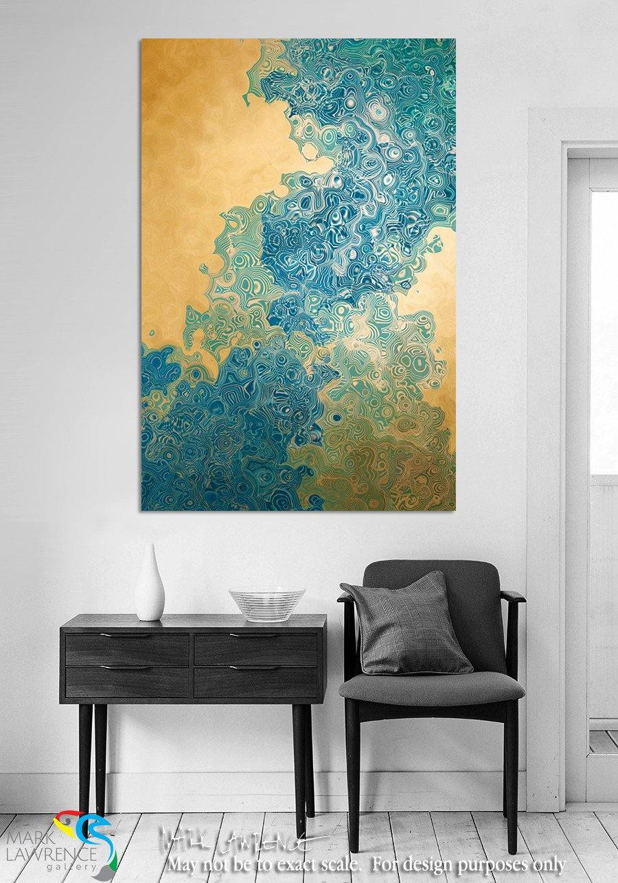 Interior Design Focal Point Art Inspiration- Christian Art-Isaiah 45:3. Hidden Riches. VerseVisions inspirational abstract art by Mark Lawrence. Original limited edition signed canvas & paper giclees.