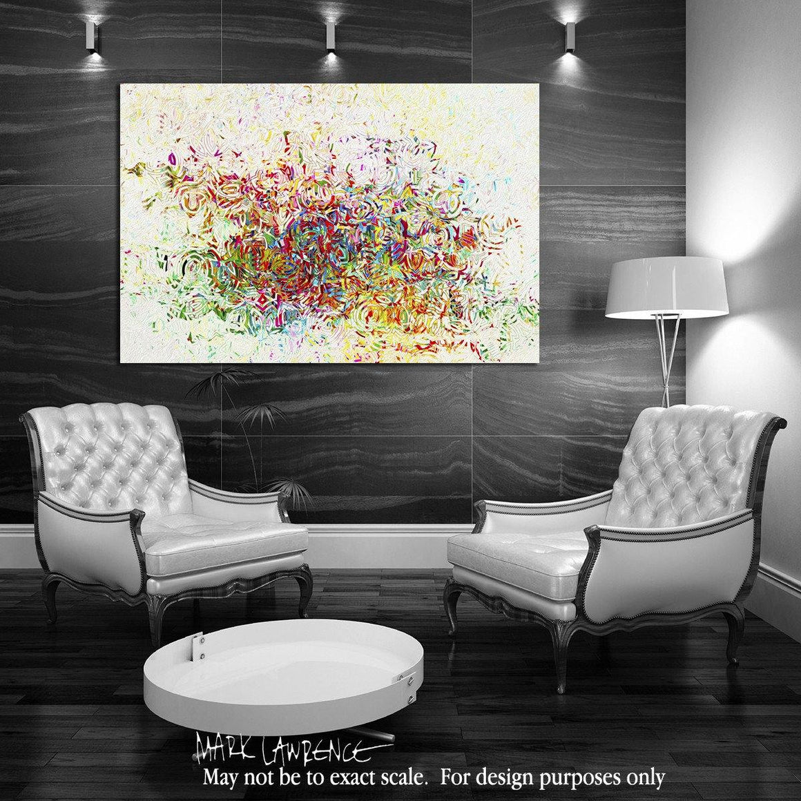 Interior Design Focal Point Art Inspiration- Christian Art-Isaiah 55:7. Versevisions contemporary abstract fine art by Mark Lawrence. Artist direct original limited edition signed canvas & paper giclees