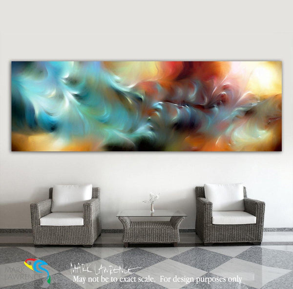 Focal Point Art Inspiration- Isaiah 57:15 God Is Awesome and Glorious. Mark Lawrence Limited Edition Christian themed art. Hand embellished with brush strokes signed/numbered modern artwork