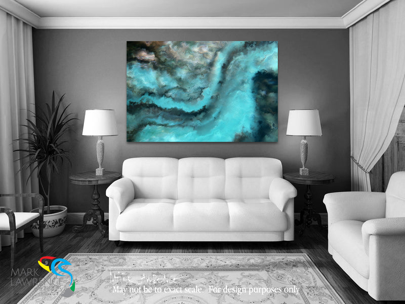 Interior Design Inspiration. Job 26:12. He Breaks Up The Storm. Limited Edition Christian Modern Art. Ultra-hand embellished and textured with rich brush strokes by the artist. Signed & numbered brightly colored Christian abstract art. Find Art That Speaks To You! He stirs up the sea with His power, And by His understanding He breaks up the storm. Job 26:12