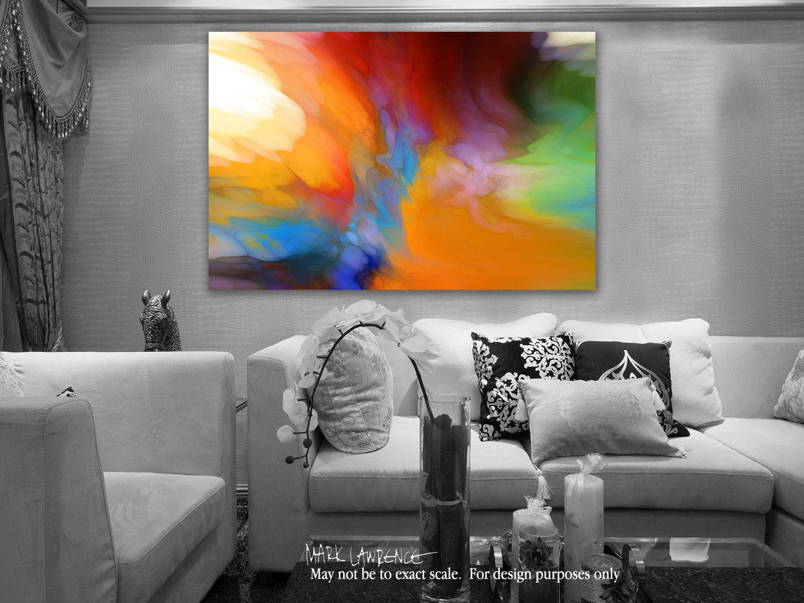 Interior Design Focal Point Art Inspiration- Acquaint Yourself With Him. Job 22:21 | Limited Edition Art