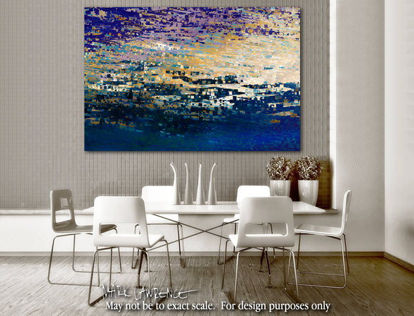 Interior Design Inspiration- John 16:33. The Peace Of God. Limited Edition Christian Modern Art. Ultra-hand embellished and textured. Signed & numbered. Christian abstract art. These things I have spoken to you, that in Me you may have peace. In the world you will have tribulation; but be of good cheer, I have overcome the world.""
