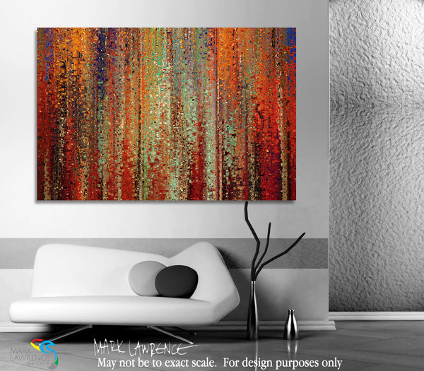 "Interior Design Inspiration- John 18:36. My Kingdom Is Not Of This World. Limited Edition Christian Modern Art. Ultra-hand embellished and textured with rich brush strokes by the artist. Signed & numbered brightly colored Christian abstract art. Find Art That Speaks To You! Jesus answered, ""My kingdom is not of this world. If My kingdom were of this world, My servants would fight, so that I should not be delivered to the Jews; but now My kingdom is not from here."" John 18:36"
