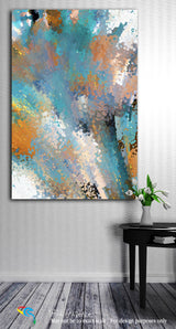 Interior Design Inspiration- John 8:32. Set Free! Limited Edition Christian Modern Art. Ultra-hand embellished and textured with rich brush strokes by the artist. Signed and numbered brightly colored Christian abstract art. And you shall know the truth, and the truth shall make you free.