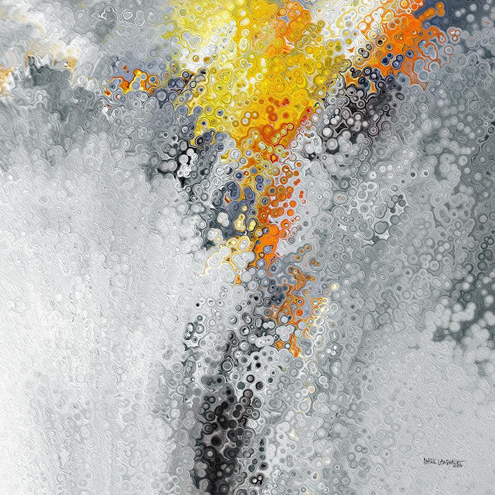 John 13:7. Farther Along. Limited Edition Christian themed art. Striking hand embellished with brush strokes signed/numbered modern abstracts.