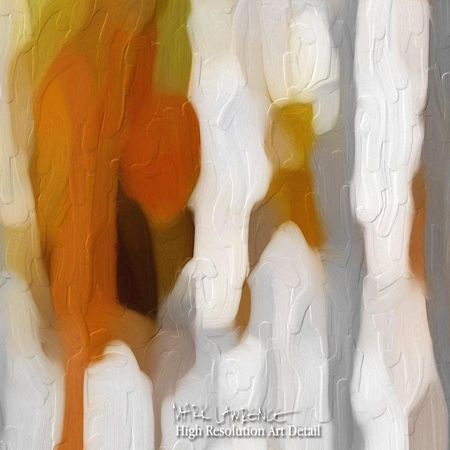 Large Painting Detail- Christian Art-John 15:5. Versevisions contemporary abstract fine art by Mark Lawrence. Artist direct original limited edition signed canvas & paper giclees