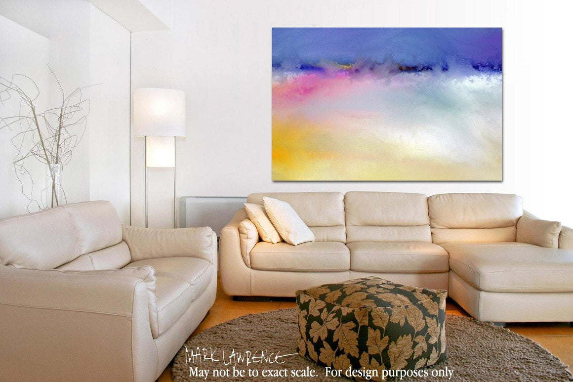 Interior Design Focal Point Art Inspiration- Christian Art-Joshua 1:7. Versevisions spiritual abstract fine art by Mark Lawrence. Artist direct original limited edition signed canvas & paper giclees