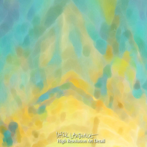 Large Painting Detail- Christian Art-Luke 15:10. Versevisions spiritual abstract fine art by Mark Lawrence. Artist direct original limited edition signed canvas & paper giclees