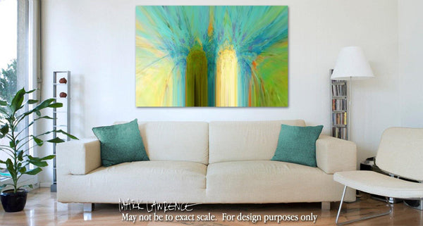 Interior Design Focal Point Art Inspiration-Christian Art-Luke 15:10. Versevisions spiritual abstract fine art by Mark Lawrence. Artist direct original limited edition signed canvas & paper giclees