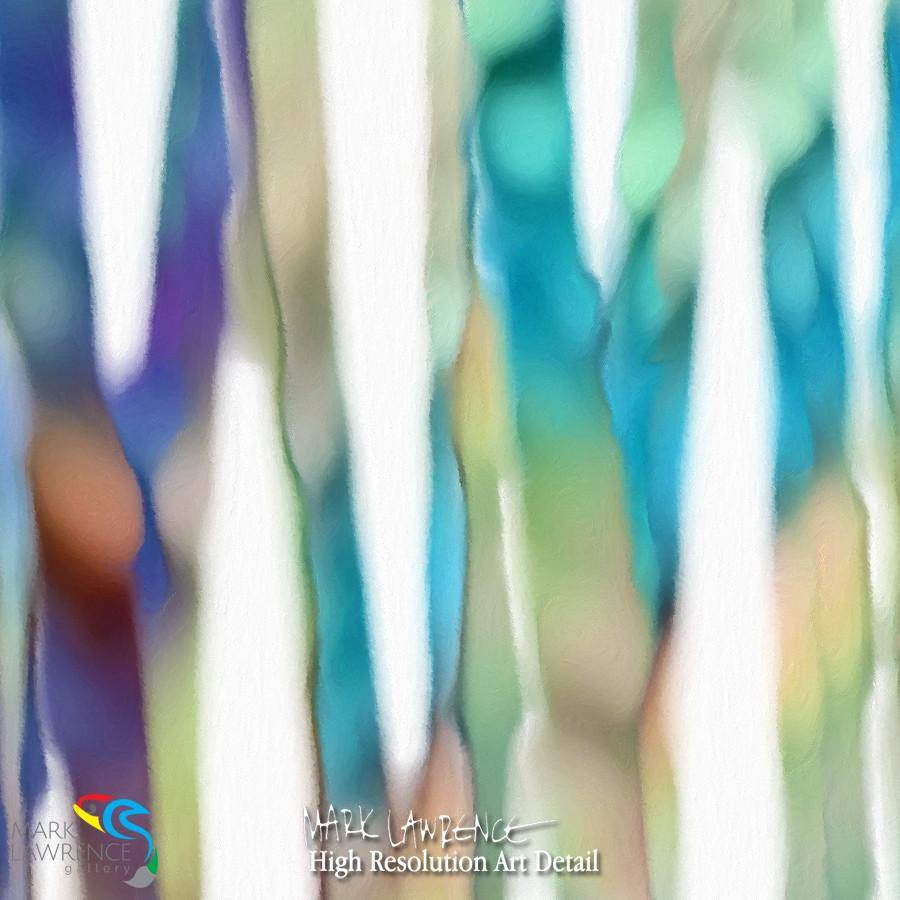 Painting Detail- Christian Art-Mark 14:32. The Prayer in the Garden II. Inspirational abstract art by Mark Lawrence. Original limited edition signed canvas & paper giclees.